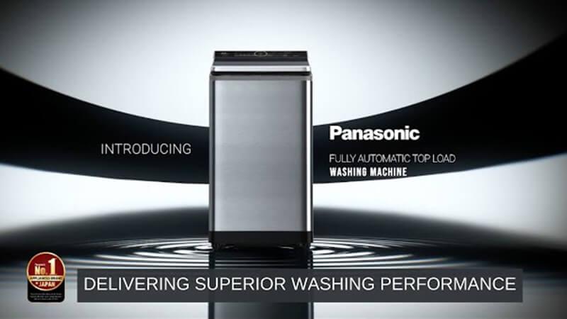 Introducing Panasonic Top-Load Washing Machine: Delivering Superior Washing Performance