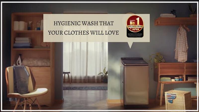 Panasonic Washing Machines: Hygienic Wash with Built-in Heater