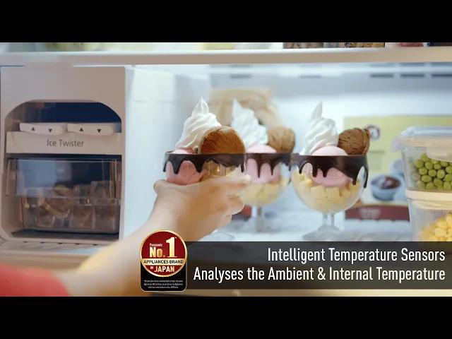 Panasonic Refrigerators: Intelligent Temperature Sensors