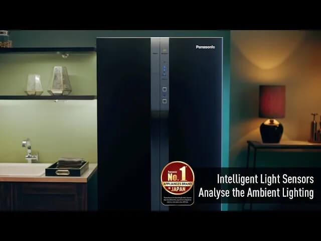 Panasonic Refrigerators: Intelligent Light Sensors