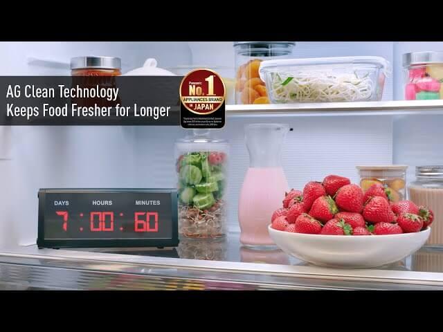 Panasonic Refrigerators: AG Clean Technology