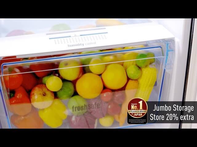 Panasonic Refrigerators: Jumbo Storage