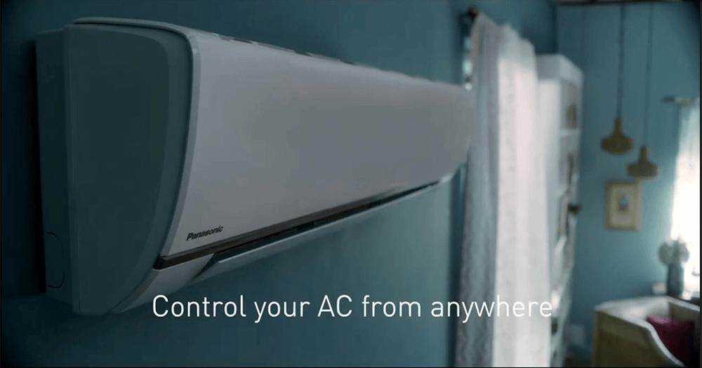 Panasonic AC control from anywhere MirAIe