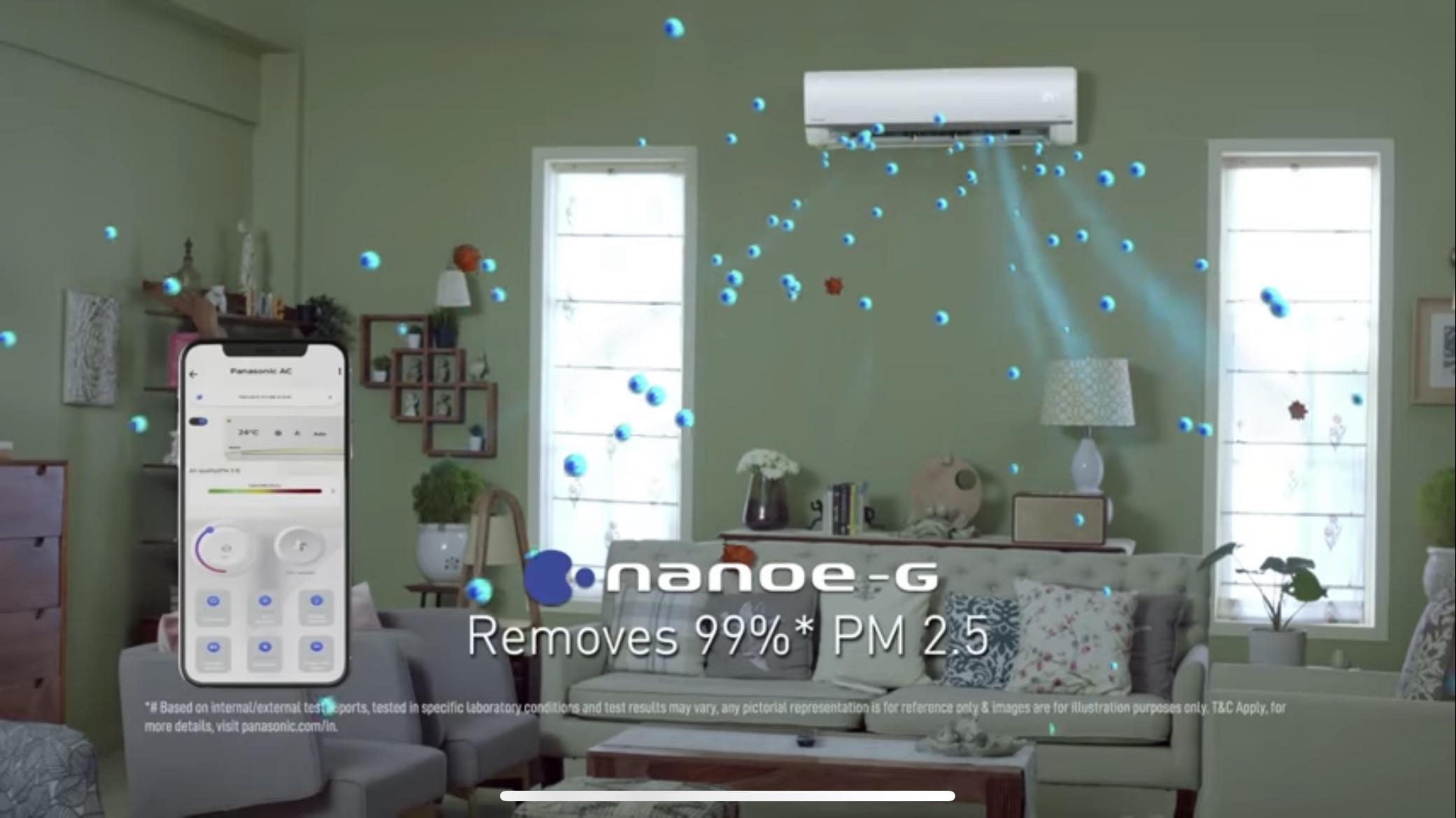 Panasonic NanoeG Smart AC
